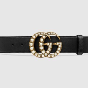 Gucci Marmont Pearl belt